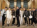7 Keseruan BTS di The Tonight Show Starring Jimmy Fallon, Wawancara di Kereta Hingga Perform Lagu On