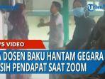 Viral, Oknum Dosen UMI Makassar Adu Mulut di Depan Mahasiswa, Diwarnai Aksi Saling Dorong dan Pukul