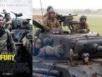 Sinopsis Fury, Aksi Brad Pitt saat Perang Dunia II, Malam Ini Pukul 24:00 WIB di Transtv