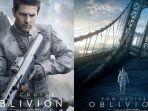Sinopsis Oblivion, Dibintangi Tom Cruise dan Morgan Freeman, Tayang Hari Ini pukul 22.00 WIB di GTV