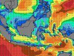 BMKG - Peringatan Dini 24-25 Januari 2021: Gelombang Tinggi Melanda Samudra Hindia dan Laut Arafu