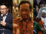 Ridwan Kamil Sebut Rentetan Kasus Habib Rizieq Dimulai dari Statement Mahfud MD