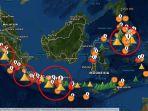 6 Gunung Api di Indonesia Erupsi Secara Bersamaan, Begini Penjelasan Ahli Vulkanologi ITB