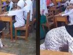 Tak Terima Anaknya Dihukum, Wali Murid Balik Beri Hukuman untuk Guru, Paksa Merangkak Keliling Kelas