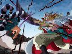 Anime One Piece 963: Bajak Laut Shirohige Datang ke Wano, Pertempuran Whitebeard vs Oden Pecah