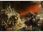 Hari Ini dalam Sejarah: Letusan Dahsyat Gunung Vesuvius Mengubur Kota Pompeii dan Herculaneum