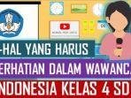 Kunci Jawaban Belajar dari Rumah TVRI untuk SD Kelas 4-6, Kamis (3/9/2020): Latihan Wawancara