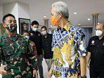Ganjar Pranowo Curhati KSAD Jenderal Andika Perkasa, Singgung Seragam TNI Bawa Pengaruh Psikologis