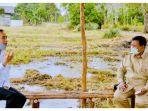 Prabowo Ditunjuk Memimpin Proyek Lumbung Pangan, Jokowi: Pertahanan Bukan hanya Urusan Alutsista