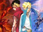 Link Boruto 195 Sub Indo: Naruto Ajak kawaki Berkeliling Konoha Mencari Vas Pengganti Milik Himawari