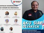 Kawan Vaksin Siap Divaksin Perdana Bersama Presiden Jokowi