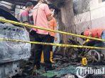 BREAKING NEWS: Diduga Ada Unsur Kesengajaan, Rumah Pejabat Dinkes Tulungagung Terbakar
