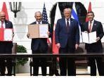 Roket Gaza dan Serangan Udara Israel, Tandai Kesepakatan Israel dengan UAE serta Bahrain