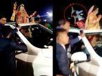 Video Viral Mobil Tabrak Konvoi Pengantin Nyaris Tewaskan Pengantin Wanita: Tamu Terlempar dan Tewas