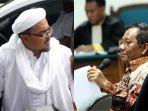 Akui Baru Tahu Surat Pencekalan Habib Rizieq Shihab, Mahfud MD Nyatakan akan Tindak Lanjuti