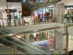 Rekaman Detik-Detik Atap Malioboro Mall Yogyakarta Jebol Menyebar di Media Sosial