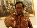 Mahfud MD Cium Adanya Aktor Intelektual di Balik Rusuh Demo UU Cipta Kerja : Sudah Direncanakan