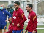 Lionel Messi Kini Mulai Tersenyum Kembali Ketika Berlatih, Pertanda Mulai Bahagia Lagi di Barcelona?