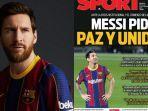 Sengketa Selesai, Lionel Messi Akhirnya Sampaikan Permintaan Maaf Terbuka kepada Suporter Barcelona
