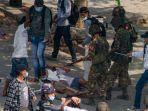 'Mereka Bukan Tentara atau Polisi, Mereka Teroris': Seorang Wanita Pendemo Myanmar Ditembak Mati
