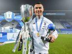 Bawa Juventus Juara Piala Super Italia 2020, Cristiano Ronaldo Cetak Rekor Pemain Tertajam di Dunia