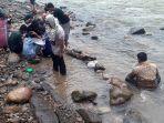 Butiran Emas Muncul di Sungai, Warga Aceh Jadi Pendulang Dadakan, Modal Wajan Dapat Rp 1 Juta Sehari