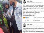 Viral Pengendara Moge Marahi Ibu Ojol karena Cipratan Air, Akhirnya Minta Maaf Mengaku Khilaf