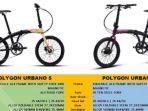LENGKAP, Ini Harga dan Spesifikasi Sepeda Lipat Polygon Bulan Juli 2020