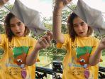 Kocak, Prilly Latuconsina Termakan Hoaks Pakai Kalung Anti Virus Corona, Ini Ceritanya