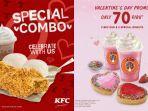 Promo Spesial Hari Valentine - KFC hingga JCo Beri Promo di Hari Kasih Sayang, Cek Syaratnya!