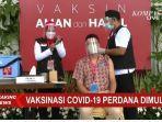 Divaksin Bareng Presiden Jokowi, Raffi Ahmad Tulis Pesan Ini di Instagramnya