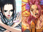 BOCORAN One Piece chapter 1005: 2 Wanita Cantik Nico Robin vs Black Maria Akan Saling Bunuh