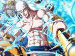 Spoiler One Piece 1005: Kebenaran Enel Muncul di Perang Onigashima & Bentuk Hybrid Kaido Adalah Ikan