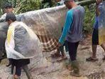 Viral Video Warga Tandu Wanita Hamil Lewat Jalan Rusak di Desanya, Pengunggah Ditangkap Polisi