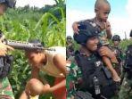 Video Viral Anak Kecil Nangis Minta Gendong Tentara, Merengek Ikut Pasukan dan Ingin Lepas Ibunya