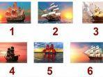 Tes Kepribadian - Pilih Satu Kapal Favoritmu dan Ungkap Karaktermu yang Sebenarnya