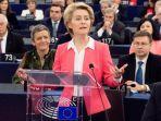Presiden Uni Eropa Ursula von der Leyen Ajak Pemerintah Joe Biden Kerjasama Atasi Perubahan Iklim