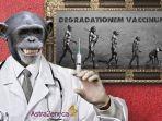 Beredar Kabar Hoax di Rusia, Vaksin Covid-19 Bisa Mengubah Manusia Jadi Monyet