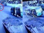 Video Detik-detik Gerobak Tukang Siomay Ditabrak Mobil hingga Terpental, Pengemudi Mengaku Ngantuk