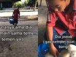 Viral Bocah Lebih Pilih Berjualan Bakpao, Ambil Untung Seribu untuk Bantu Keluarga Makan
