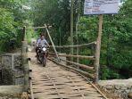 Viral Proyek Jembatan Bambu di Ponorogo Habiskan Rp 200 Juta, Pemkab: Pembangunan Belum Selesai