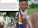 Viral Kisah Kakek Penjual Sapu Lidi Kehilangan Uang Rp 400 Ribu, Menangis Setelah Dompet Dicopet