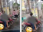 Viral Pemotor Diduga Mabuk, Mesum di Lampu Merah Surabaya, Polisi Selidiki Video