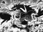 PREDIKSI One Piece Chapter 1004: Kaido Berubah Wujud, Update Nasib Para Samurai dan Kru Topi Jerami