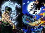 Bocoran One Piece chapter 1005: Onigashima Jadi Panggung Zoro dan Kekuatannya Bakal Lampaui Kaido
