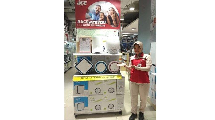 ACE Hadirkan CLAIR Air Purifier, Solusi Untuk Meningkatkan Kualitas Udara Dengan Watt Rendah