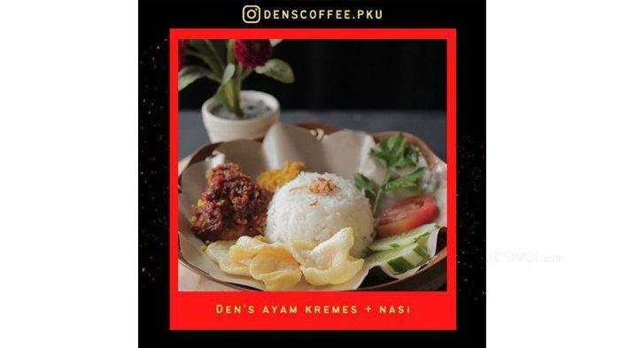 Hadir di Kaharuddin Nasution, Den's Coffee Suguhkan Menu Ayam Judes Sebagai Andalan