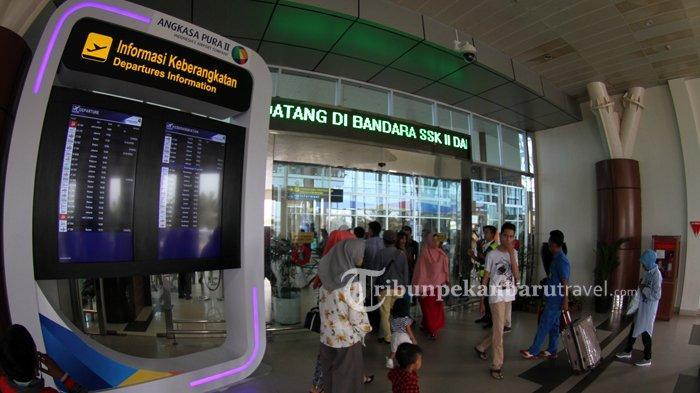 Seluruh Penerbangan Komersil Dihentikan Sementara, Ini Tanggapan Asita Riau