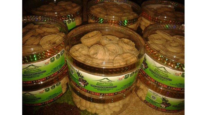 Biskuit paragu dari tepung biji getah
