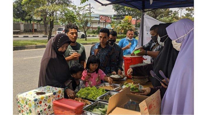 Makan Sepuasnya, Bayar Seikhlasnya di Dapur Ikhlas Pekanbaru